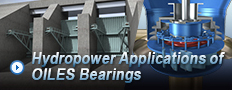 Hydropower bearings Applications